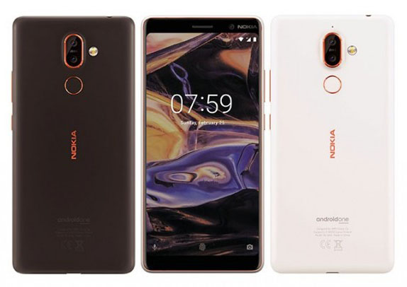 "Показан смартфон Nokia 7+ с 6"" экраном и оптикой Carl Zeiss"